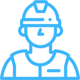 An Icon depicting a construction worker.